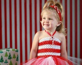 Candy cane tutu dress, candy cane theme, tutu dress, girls dress, girls tutu, feather tutu, clothing, girls clothing, girls costume