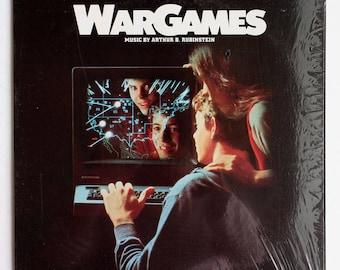 VERY RARE Wargames Vinyl Soundtrack - Very Good