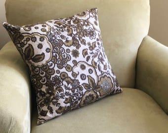 Throw pillow cover | linen pillow cover, vintage pillow cover, throw pillow covers, vintage pillow case