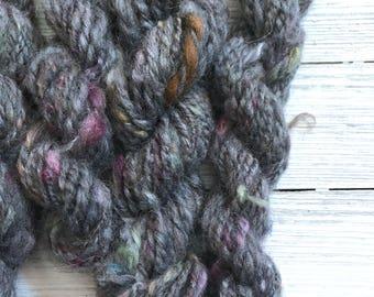 Handspun Yarn - Mini Skein | Wool yarn | Weaving Yarn | OOAK Yarn