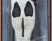 Primtiive skeleton, prim skull, primitive halloween, prim halloween, skeleton, skull, bones, halloween, prim halloween