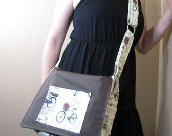 Bike Crossbody Messenger bag