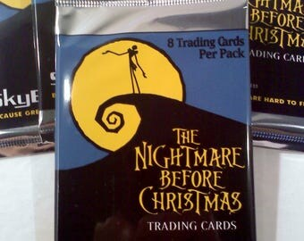 Nightmare Before Christmas Trading Cards