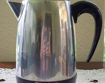 Vintage Farberware Superfast Automatic 364B 8 Cup Coffee Pot/Percolator