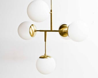 Jeam - Brass Chandelier