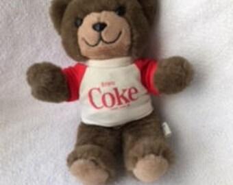 Trudy Bear T-Shirt Enjoy Coke Coca-Cola 1983