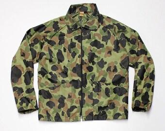 Camo Nylon Jacket