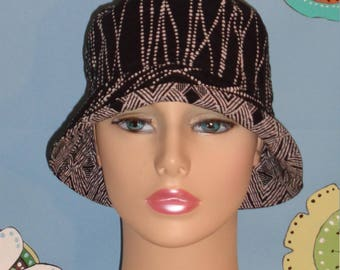 Chemo Hat Bucket Hat Made in the USA (For Size Guide,see 'Item Details' ) SMALL/MEDIUM