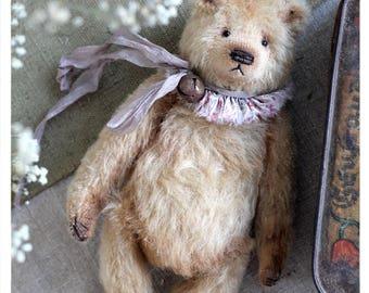 Classic Teddy bear Gabriel  and Marcus 19 cm OOAK
