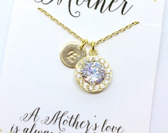 Gifts for Mom, Personalized Necklace for Mom, Personalized Gift for Mom From Daughter, Mother of the Bride Gift, Personalized Jewelry