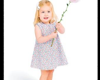 Childrens Corner Pattern / Lucy Pattern / Sundress Pattern / Jumper Pattern / Button Shoulder Pattern / Easy / Children's Corner 241