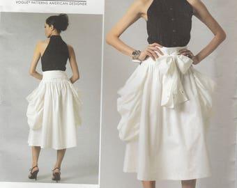 Designer Blouse & Skirt Pattern Vogue 1248 Sizes 12 14 16 18 Uncut
