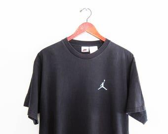 vintage t shirt / NIKE t shirt / Jump Man t shirt / 1990s oversize NIKE Jordan Jump Man t shirt Medium