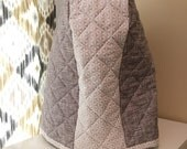 Custom Listing for ZH - 6 quart Lift-Up Bowl - Quilted Mixer Cover for Kitchen-Aid - Grey Modern - Christmas Birthday
