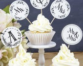 Mr and Mrs Sign, Cupcake ...