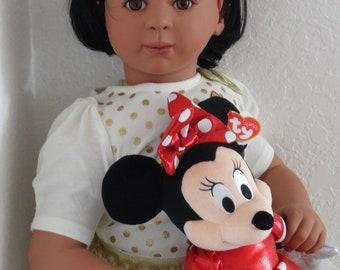 "Reborn 31"" Ethnic/Hispanic Toddler Girl Doll ""Maya"" -REady to ship!"