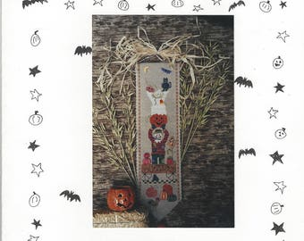 """Clearance- """"The Pumpkin Farm"""" Counted Cross Stitch by Fanci That"""