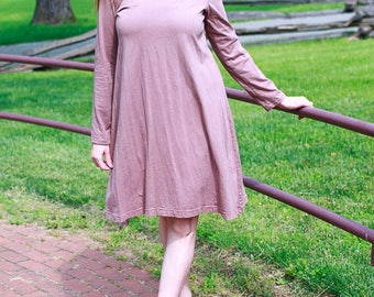 Cocquette Dress in Organic Cotton Jersey