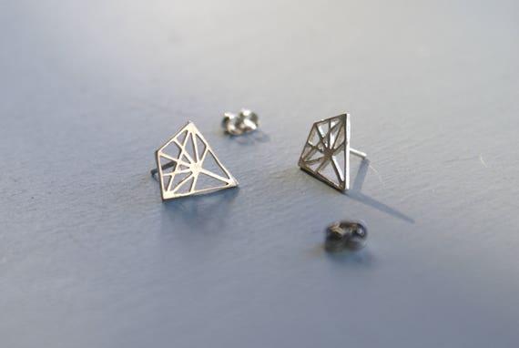 Geometric studs - sterling kites