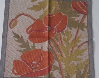 Poppies Tea Towel Tapestry Ekelund