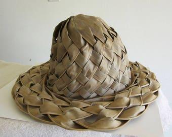 Palm Leaf Hat - Hand Made - Sun Hat - Natural Palm Leaf Hat - Summer Hat