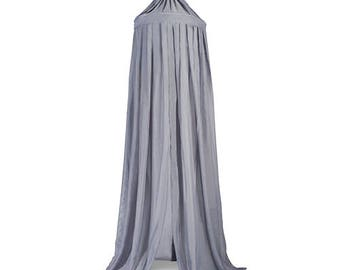 Anthracite Grey Baldachin Bed Canopy 230cm