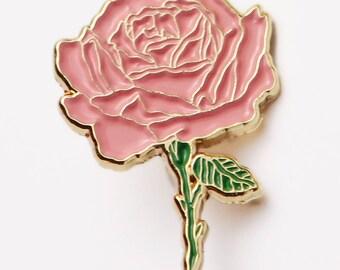 Rose Gold lapel pin