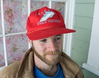 Vintage Alaska Whale Watchers Hat