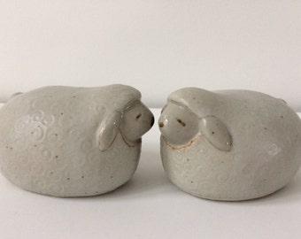 Otagiri ceramic sheep / Japan
