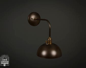 Wall Sconce | Industrial | Oil Rubbed Bronze | Reading Light | Bedroom Light | Light Fixture