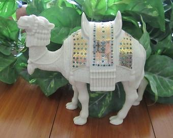 Lenox Camel, vintage, China Jewels Collection, jewels, porcelain, camel, nativity, Christmas,