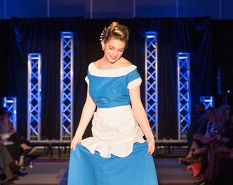 Disney Retro Beauty and the Beast 3 Piece Belle Dress