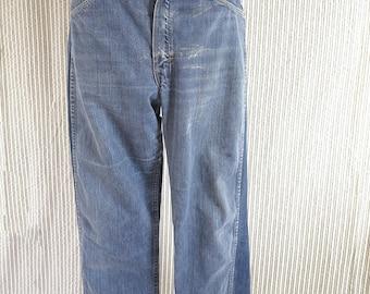 31w// 80s vintage cropped jeans// low waist vintage jeans// 31W
