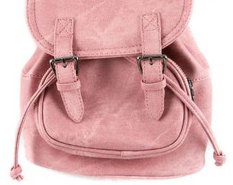 Mauve Mini Backpack