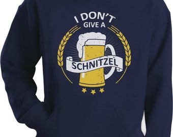 I Don't Give a Schnitzel Oktoberfest Beer Hoodie