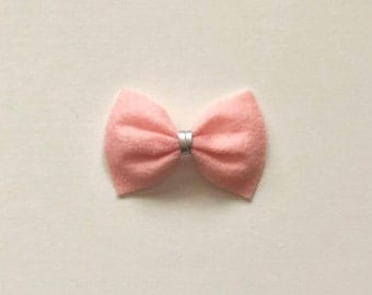 Light Pink Original Felt Bow