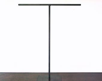 Extra Tall Steel Necklace T-Stand - Jewelry Holder - Metal Necklace Display