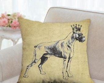 Designer Boxer with Crown Pillow  (two styles to choose from)