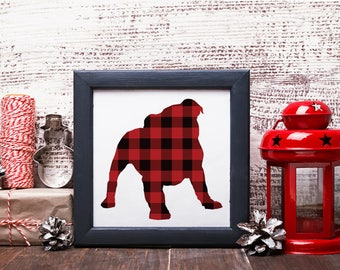 Plaid Bully Printable