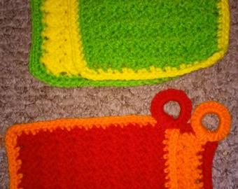 Scrubby/ Washcloth Set