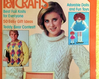 McCall's Needlework and Crafts 1984