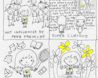 Symptoms of CREATIVITY