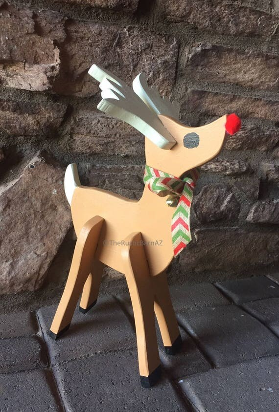 Christmas Deer Decor