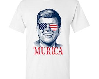 President John F Kennedy MURICA T-Shirt