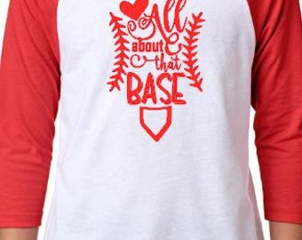 All About That Base Raglan Shirt