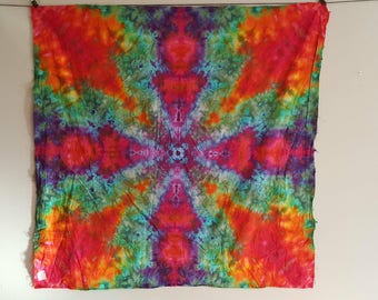 Tie Dye Tapestry 55x56inches