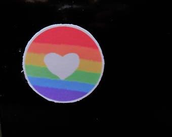 Pride - LGBT - Rainbow - Magnet