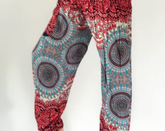 SM0037 Gypsy Pants Rayon Pants,Aladdin Pants Maxi Pants Boho Pants