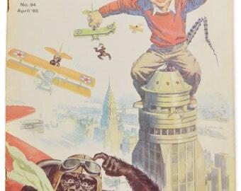 Vintage 60s Mad Magazine No. 94 April '65 Parody Satire Humor
