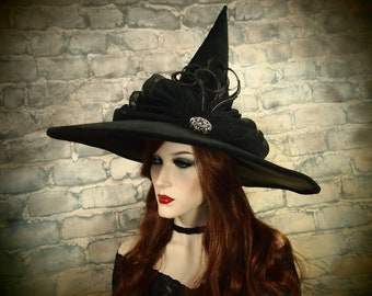 """NEW STYLE! Witch Hat """"The Fates"""""""